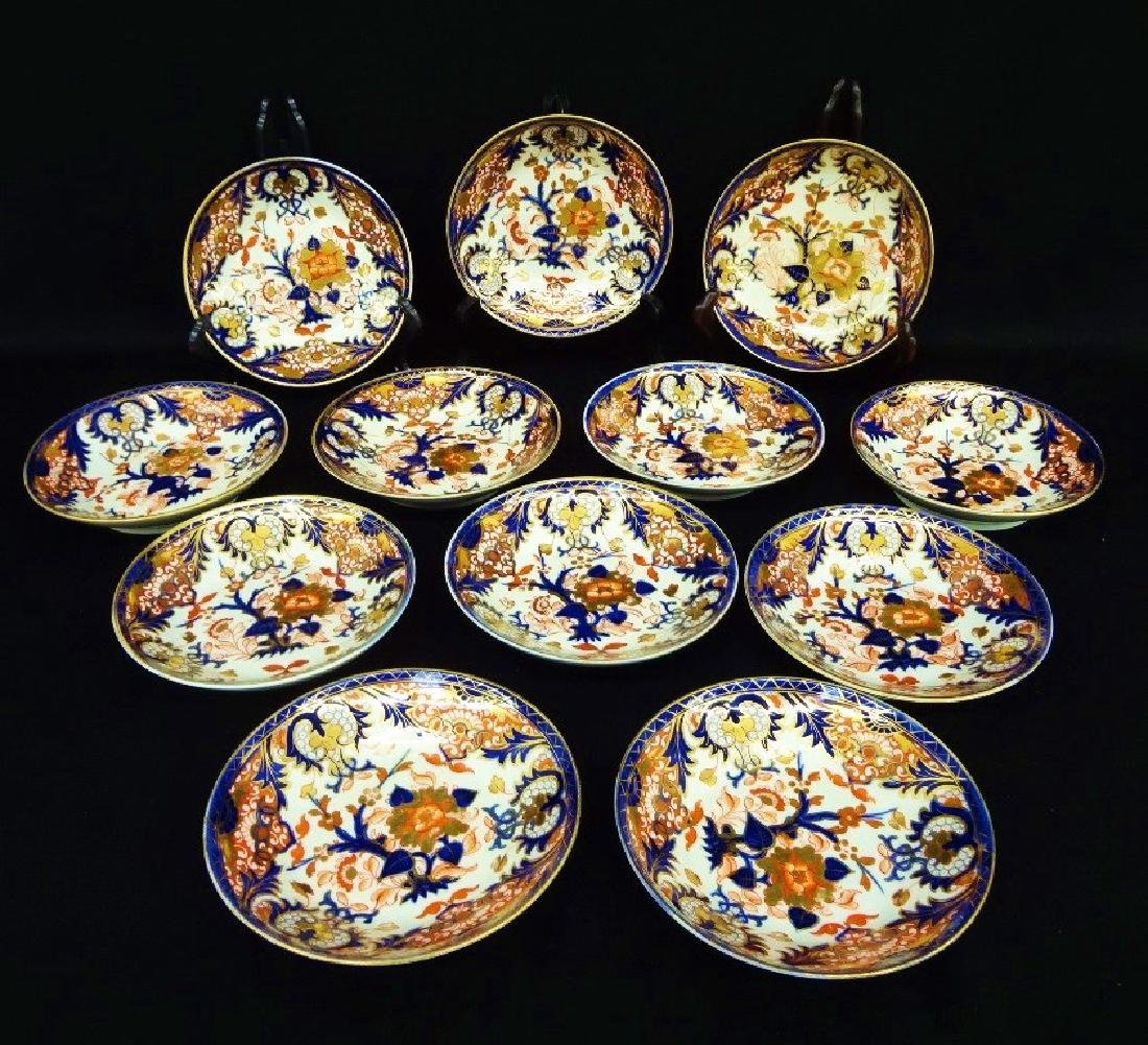 1784-1820 Royal Crown Derby China (12) Berry Bowls