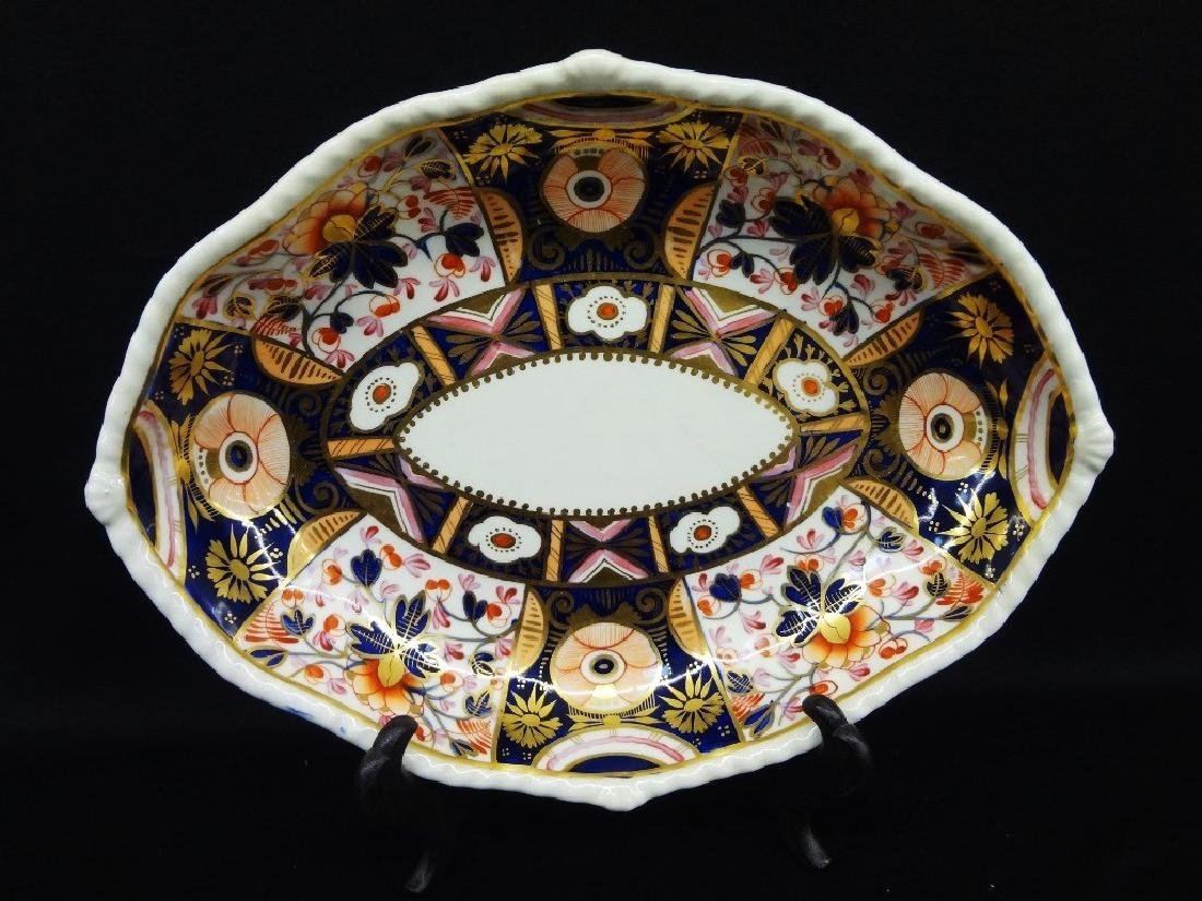 1784-1820 Royal Crown Derby China Design 2 Imari Oval