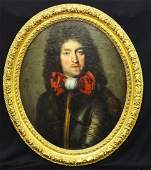 Louis XIV French School late 17th Century Oil on Board