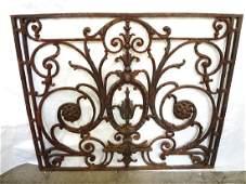 Victorian Cast Iron Garden Gate