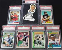 7 PSA Graded Star and Rookie Card Lot