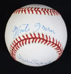 Willie Stargell and Monte Irvin Autographed ONL