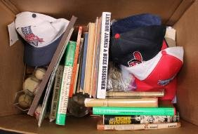 Box Lot of Misc. Sports Items