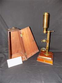 Jones Improved Compound Microscope circa 1795, made by