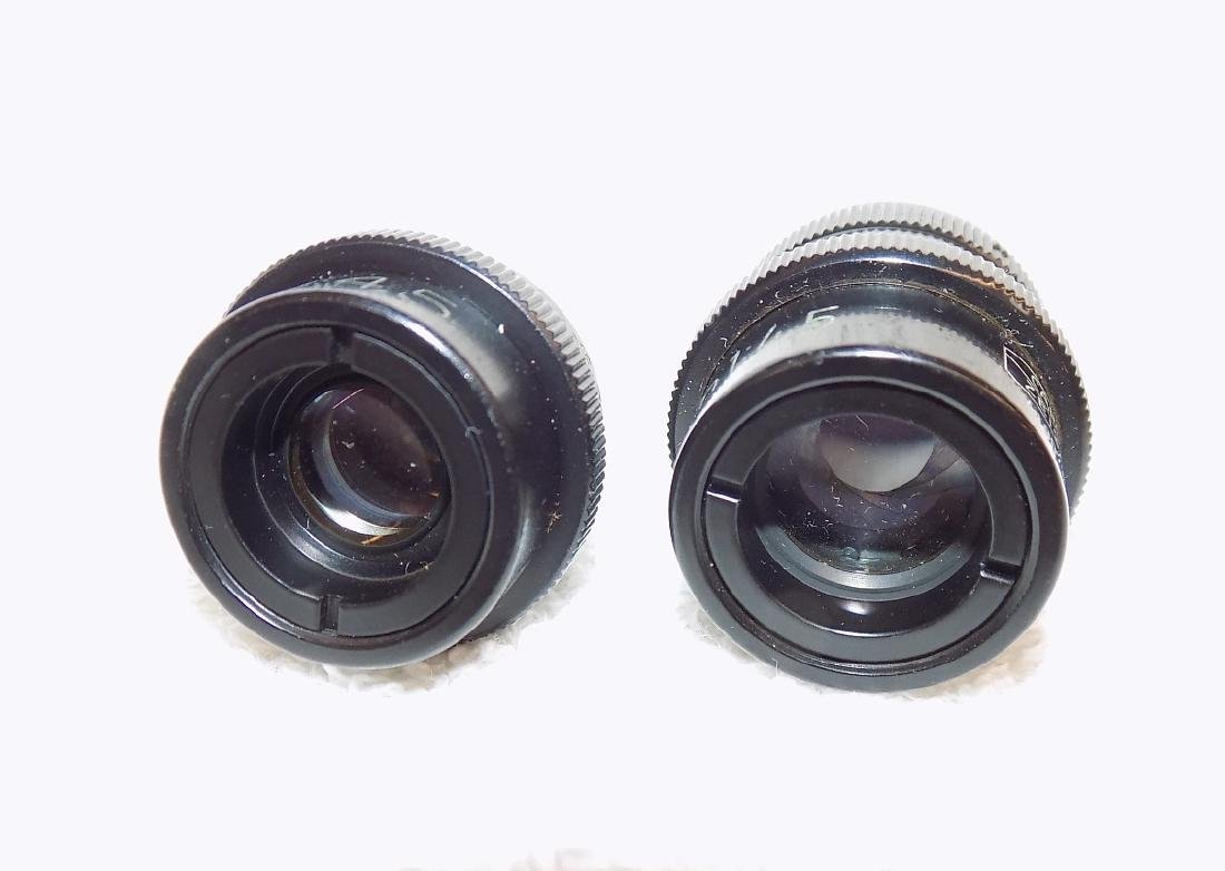 (2) Carl Zeiss Microscope Objectives 40mm & 63mm 1:4,5 - 3
