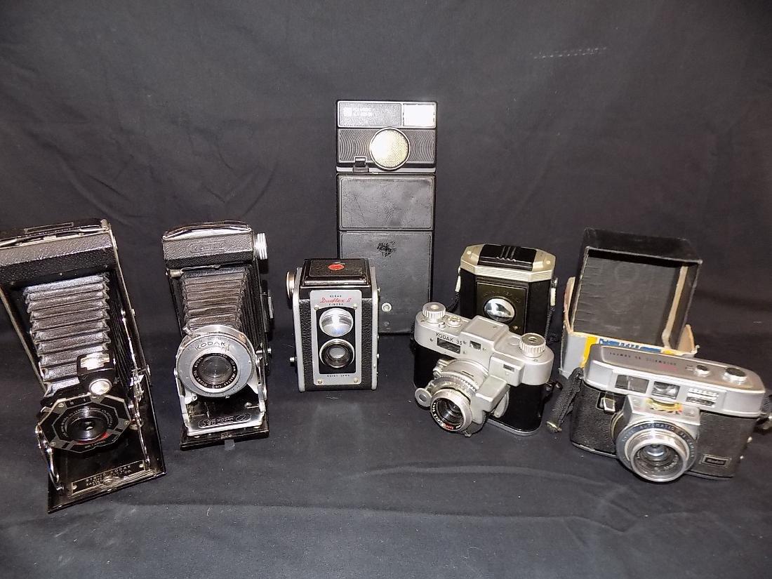 Vintage Kodak Camera lot of 7  Six-16, six-20,