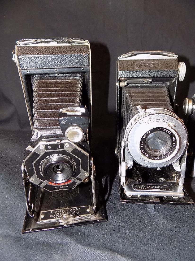 Vintage Kodak Camera lot of 7  Six-16, six-20, - 2