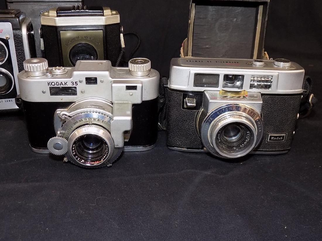Vintage Kodak Camera lot of 7  Six-16, six-20, - 4