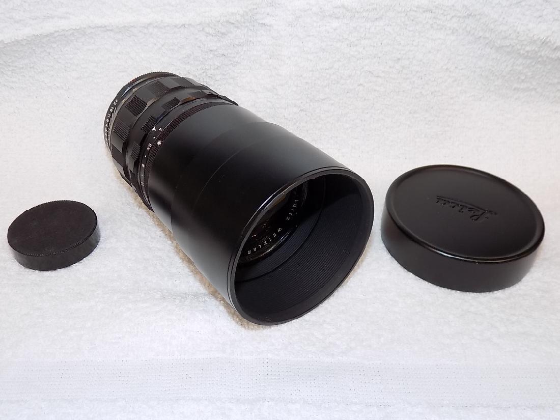 Leitz Wetzlar Telyt 1:4/200 Camera Lens