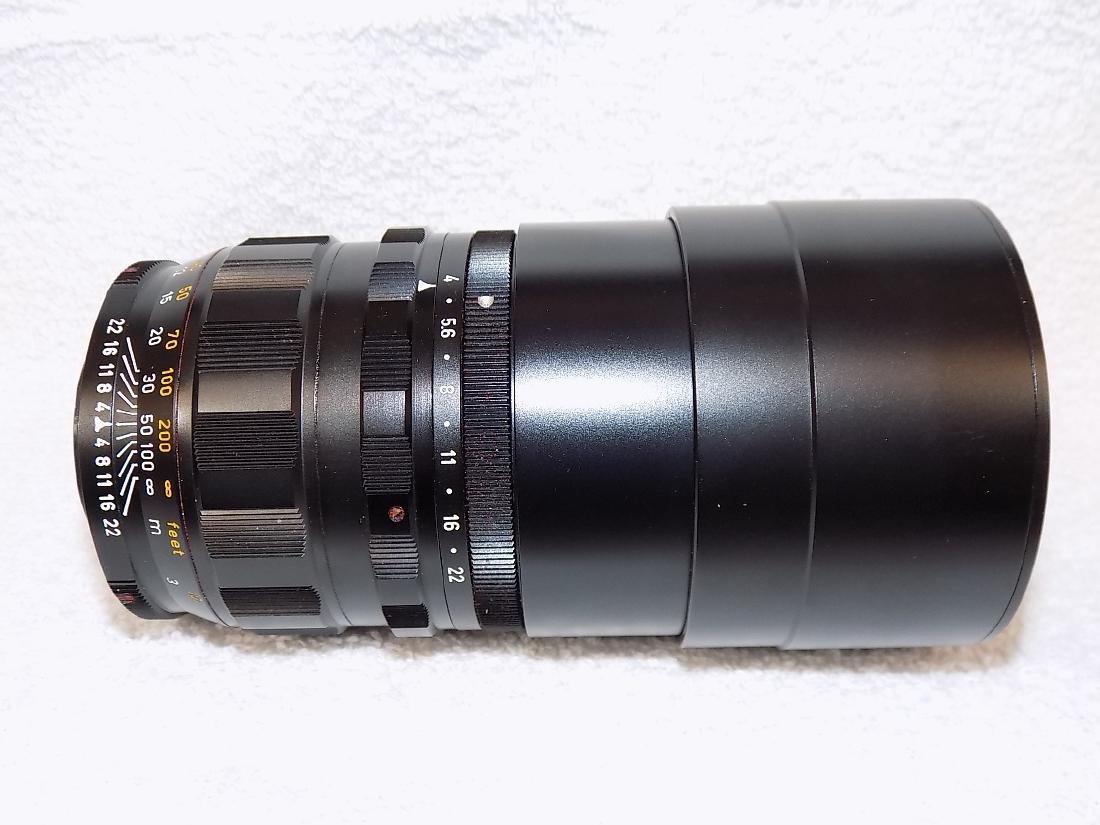 Leitz Wetzlar Telyt 1:4/200 Camera Lens - 3