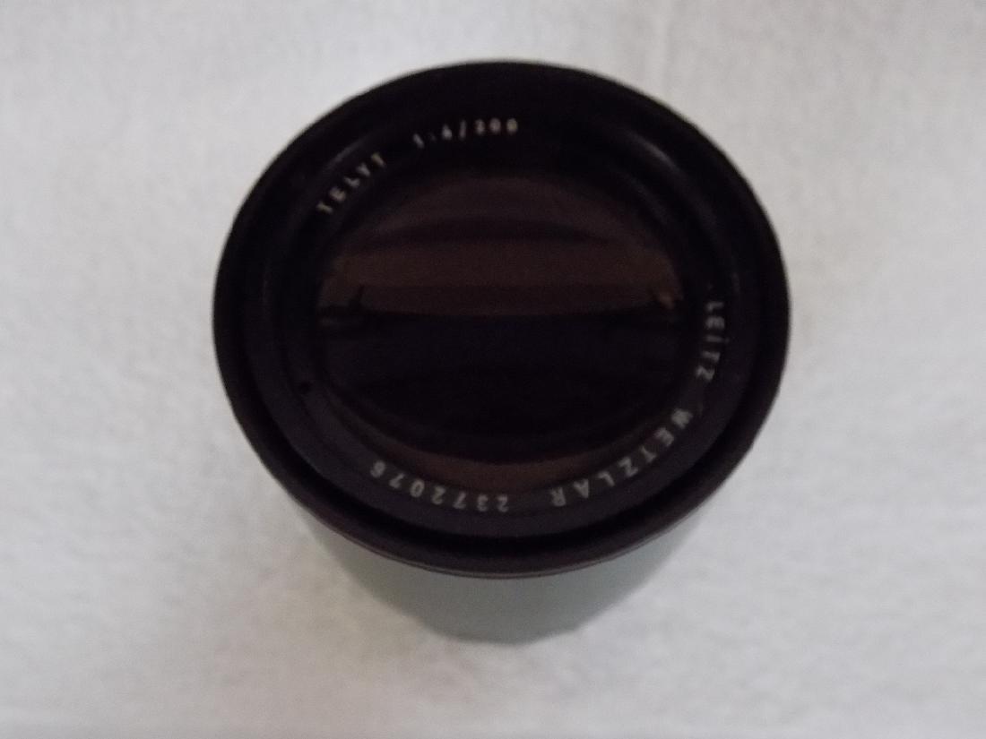 Leitz Wetzlar Telyt 1:4/200 Camera Lens - 5
