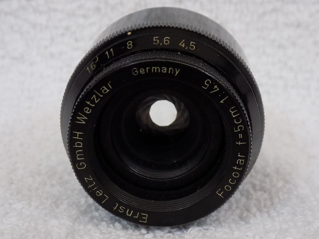(5) Camera Lens Nikon, Nikkor, Leitz, Rodenstock + - 4