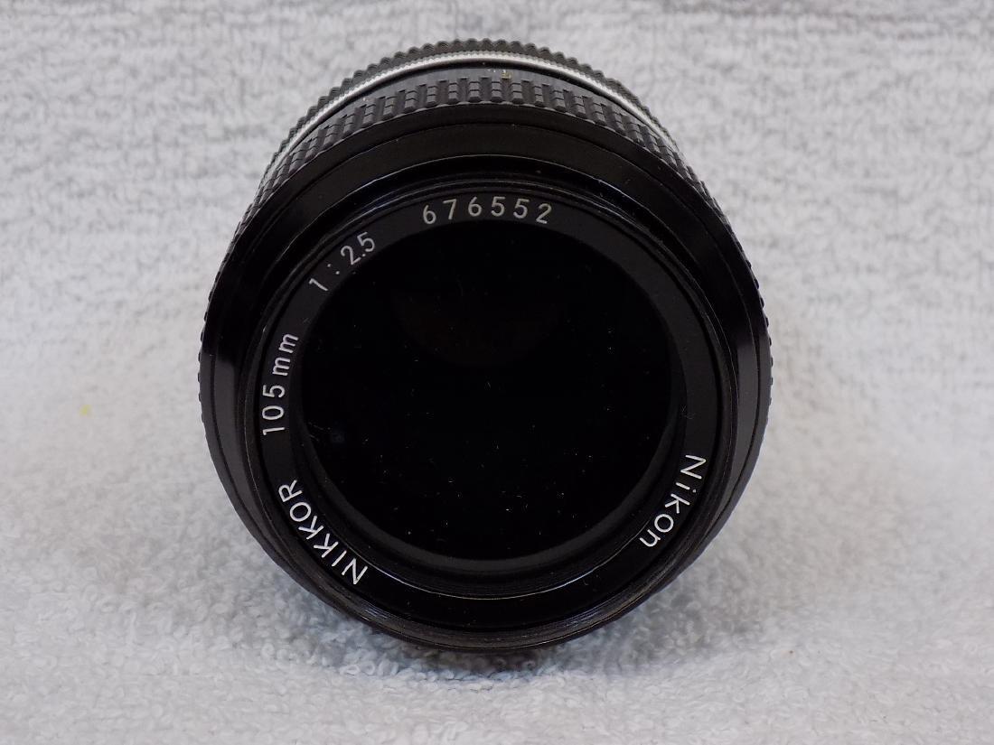 (5) Camera Lens Nikon, Nikkor, Leitz, Rodenstock + - 5