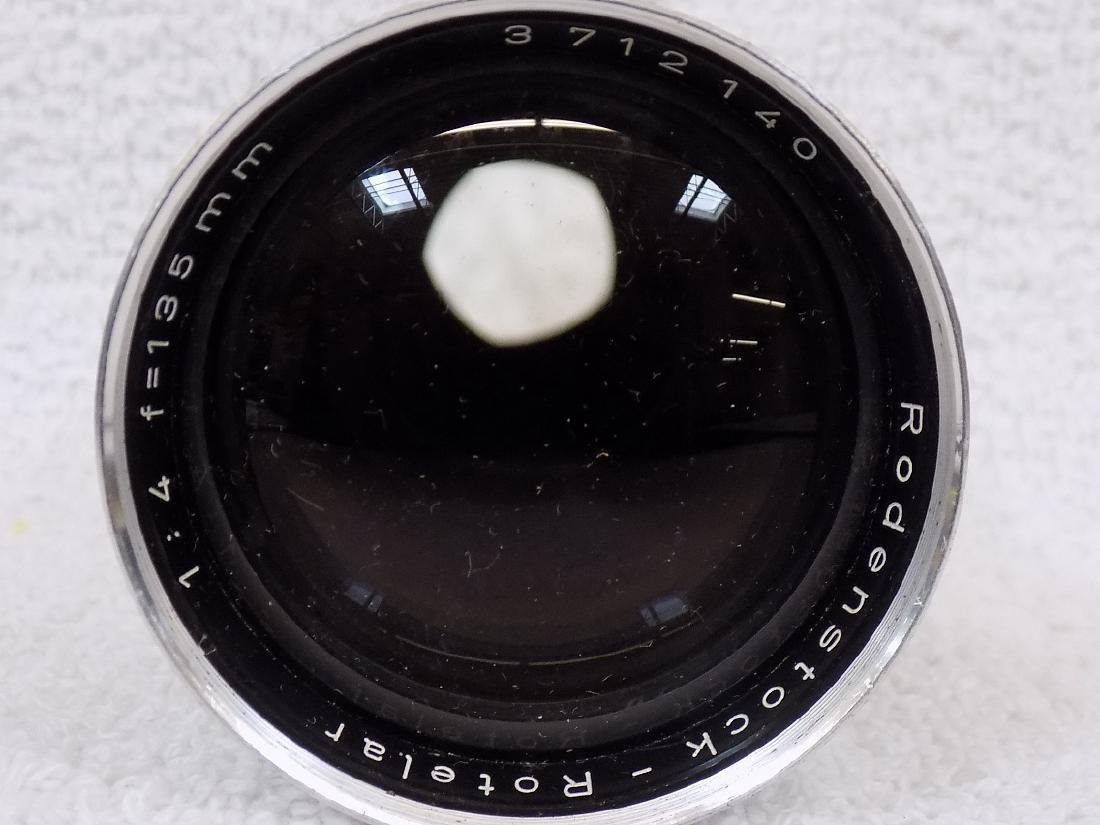 (5) Camera Lens Nikon, Nikkor, Leitz, Rodenstock + - 6