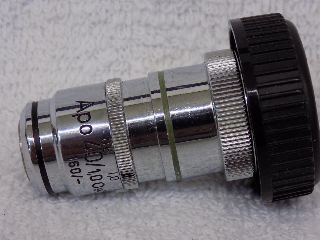 Carl Zeiss APO 40/1,0 Oel Mj  160/- Microscope - 2