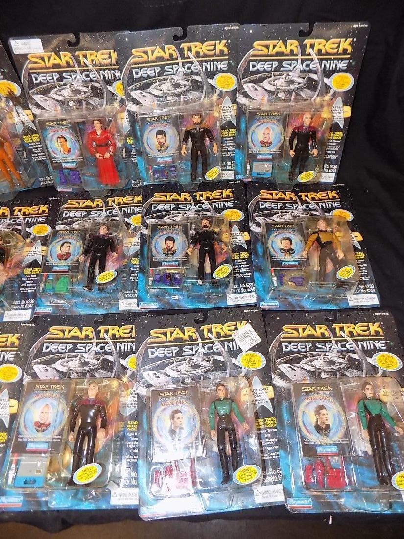 1979 Star Trek Mego Spock/Kirk/Scotty + (22) 1996 Star - 3