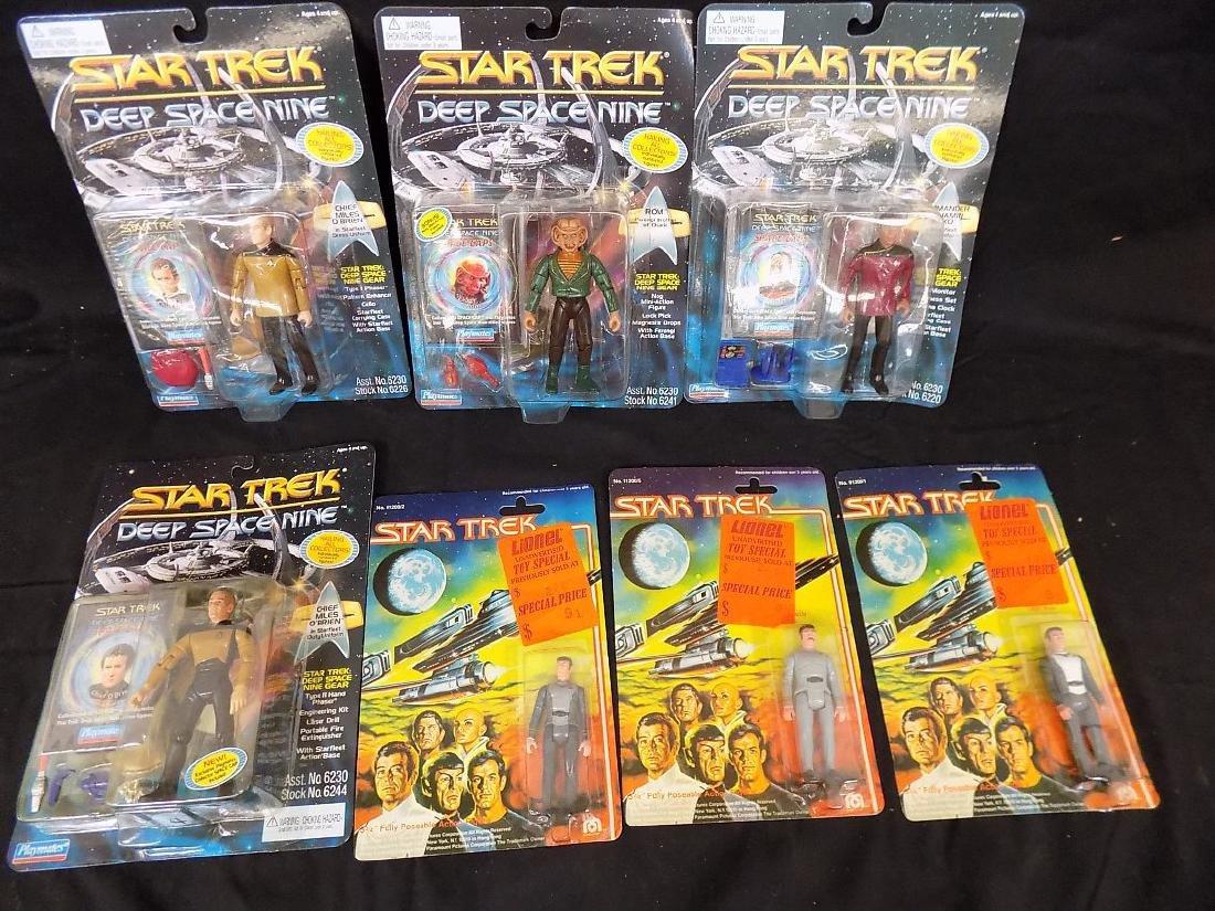 1979 Star Trek Mego Spock/Kirk/Scotty + (22) 1996 Star - 4