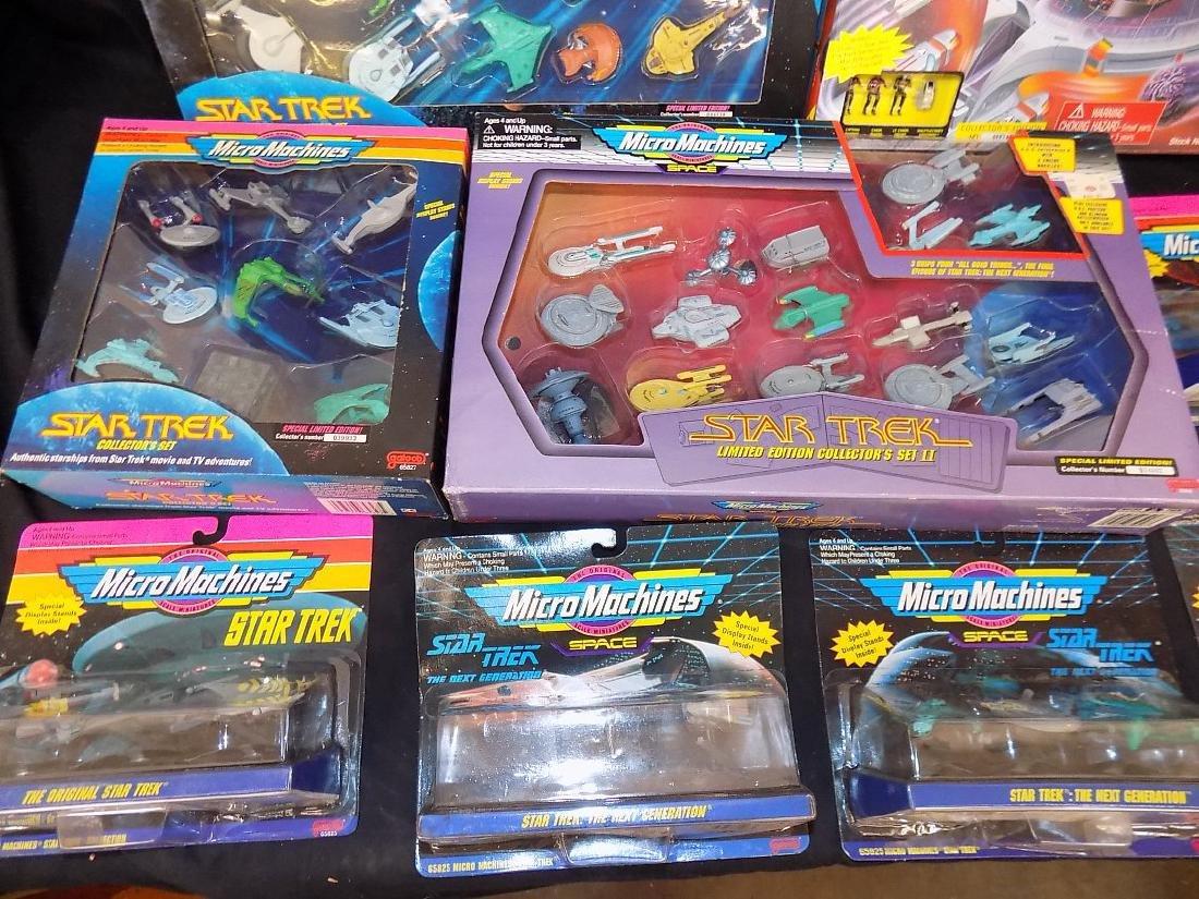 1990's Star Trek Micro Machines Group of 12 Playsets - 2