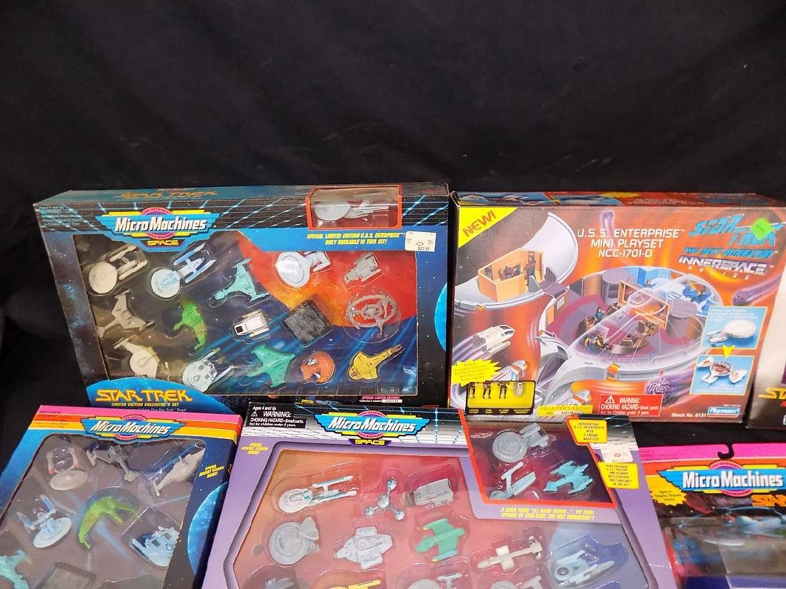 1990's Star Trek Micro Machines Group of 12 Playsets - 3