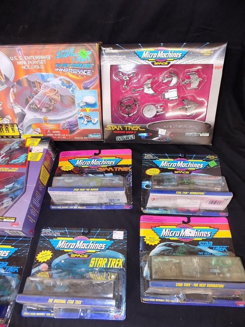 1990's Star Trek Micro Machines Group of 12 Playsets - 4
