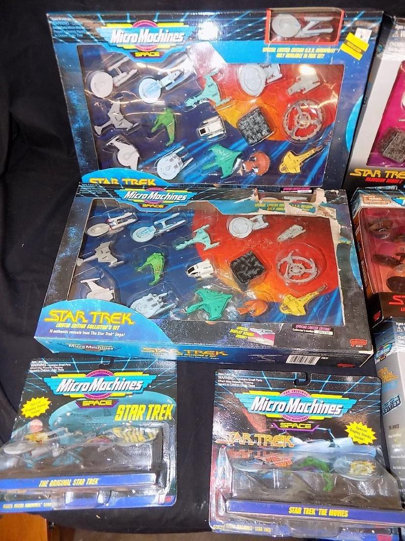 1990's Star Trek Micro Machines Group of 11 Playsets - 2