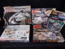 5 Original Star Wars Model Kits Millennium Falcon