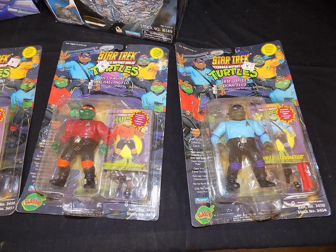 Star Trek Teenage Mutant Turtles Set + Two Borg Ships, - 3