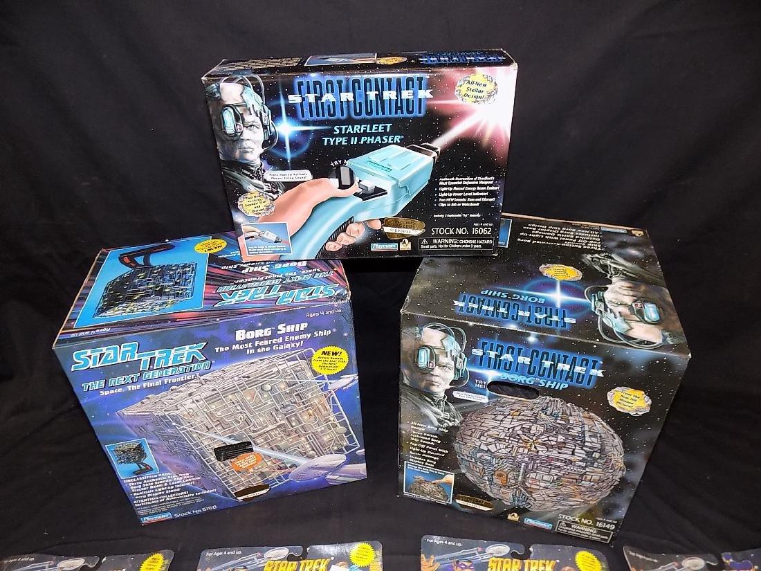 Star Trek Teenage Mutant Turtles Set + Two Borg Ships, - 4