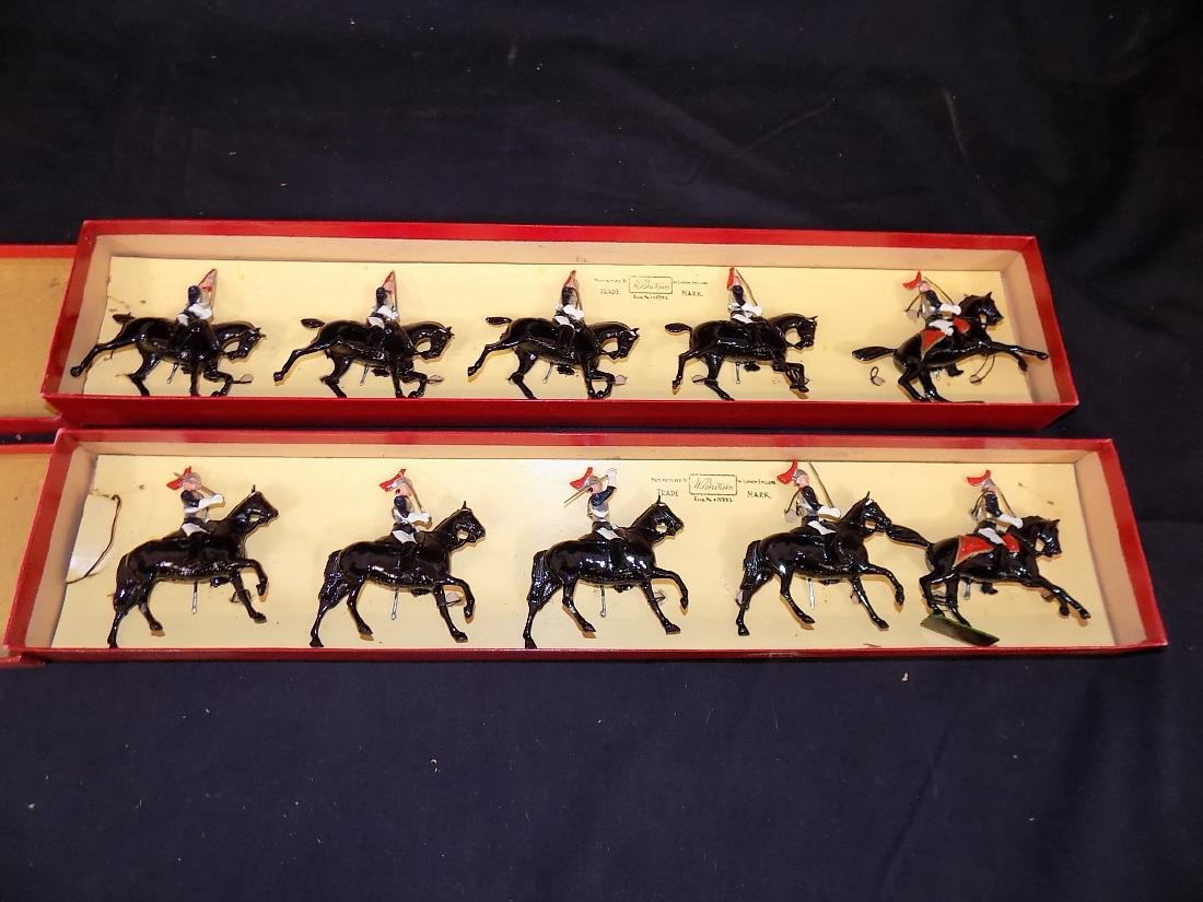 Britains Soldiers (2) Complete Sets w/Original Boxes No