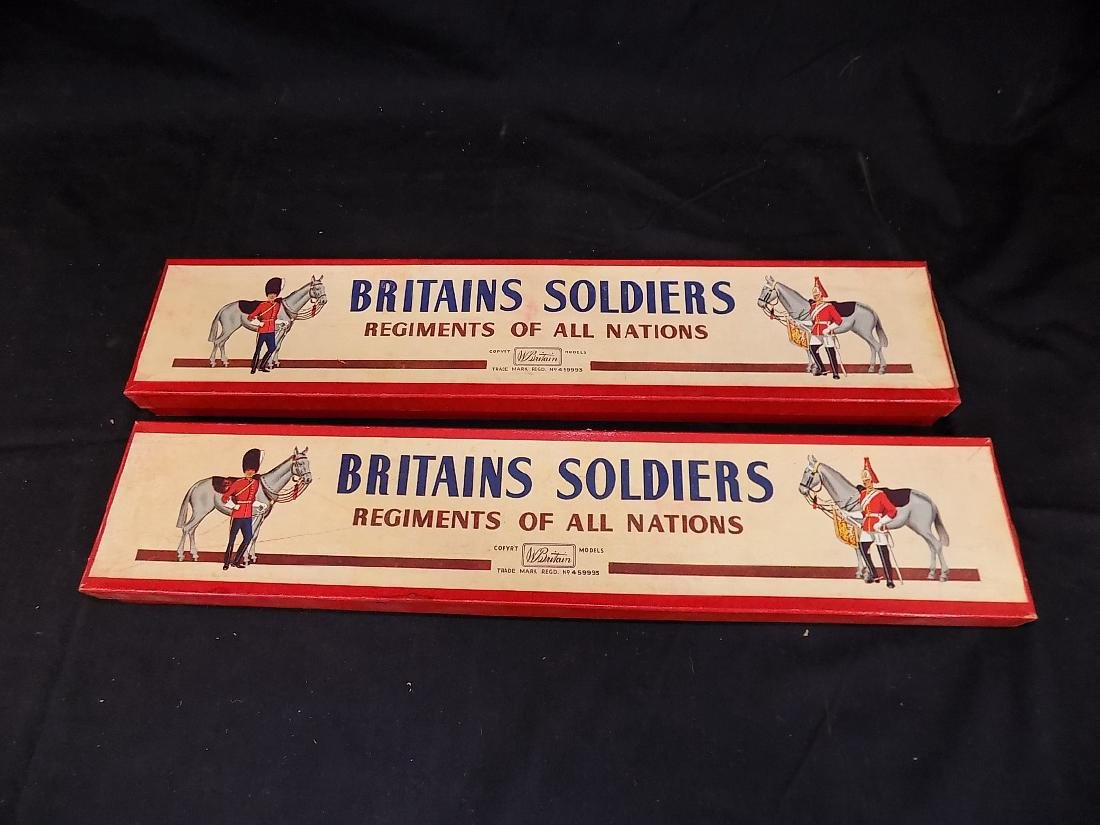 Britains Soldiers (2) Complete Sets w/Original Boxes No - 4