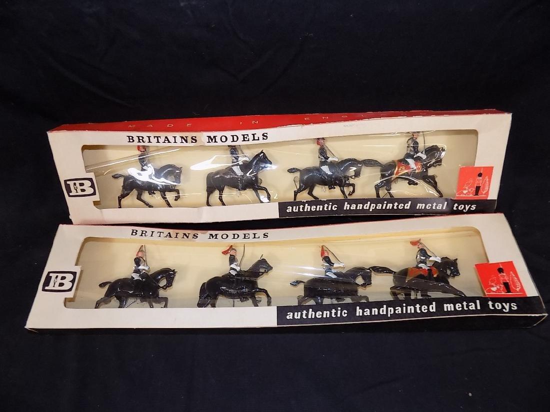 Britains Soldiers (2) Complete Sets w/Original Boxes No