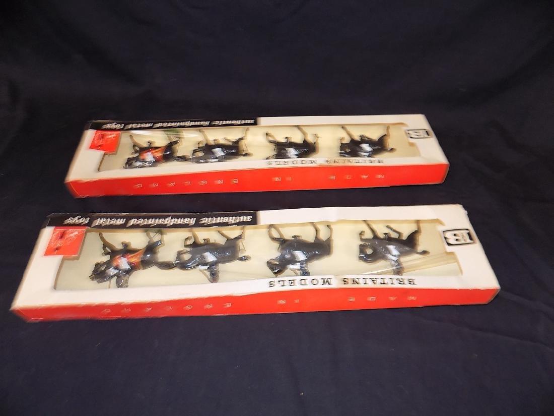 Britains Soldiers (2) Complete Sets w/Original Boxes No - 3