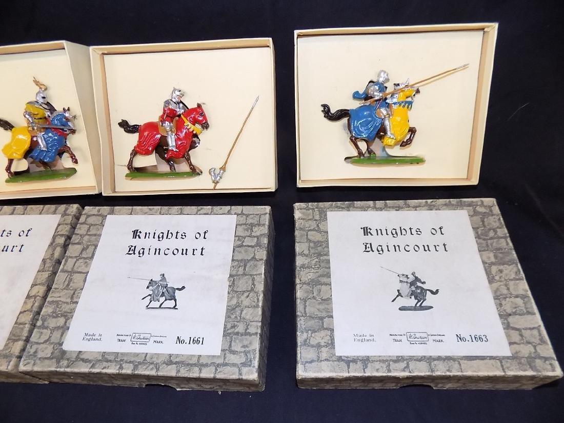 Britains Soldiers (4) Set w/Original Boxes No 1659 1660 - 3