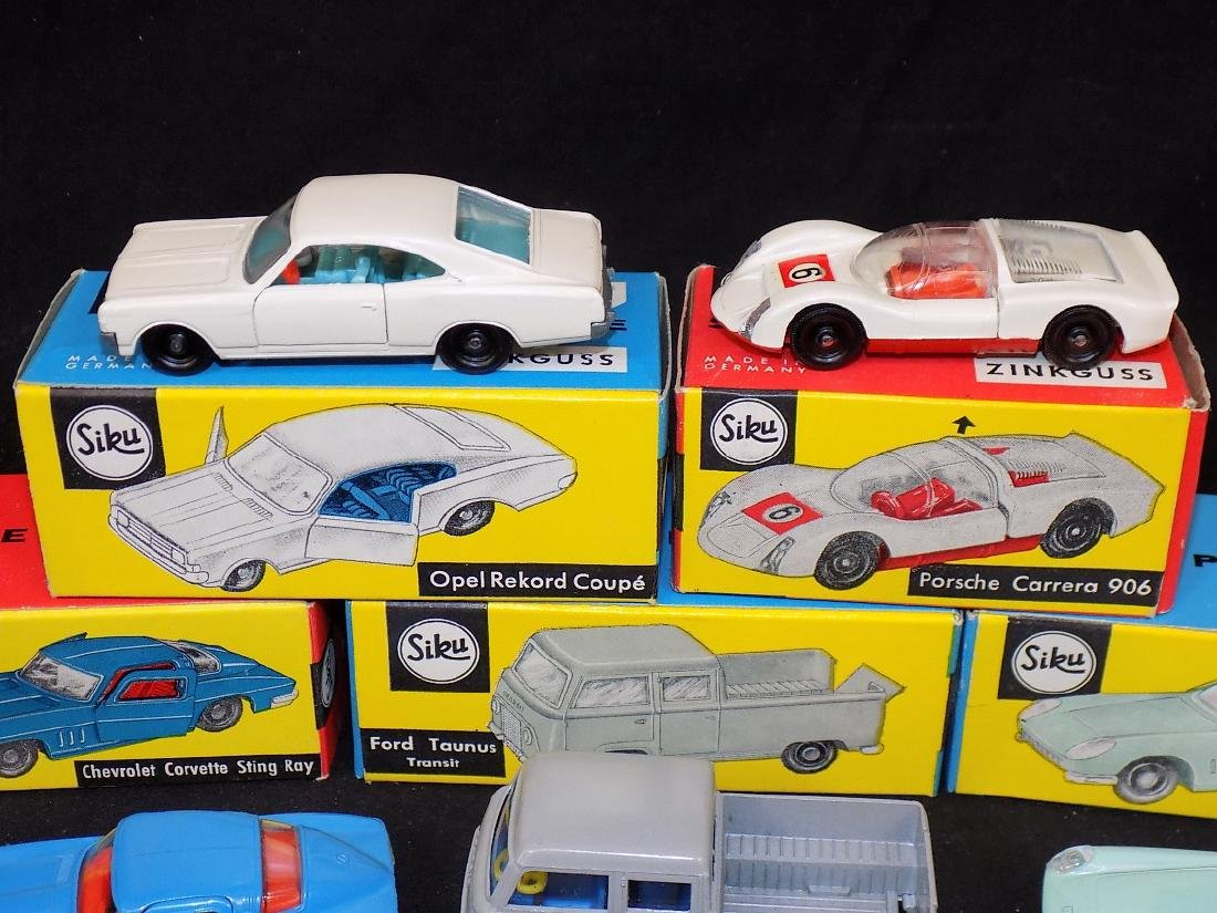 Siku NIB Car Lot (5) v271 Opel Rekord, v285 Porsche, - 3