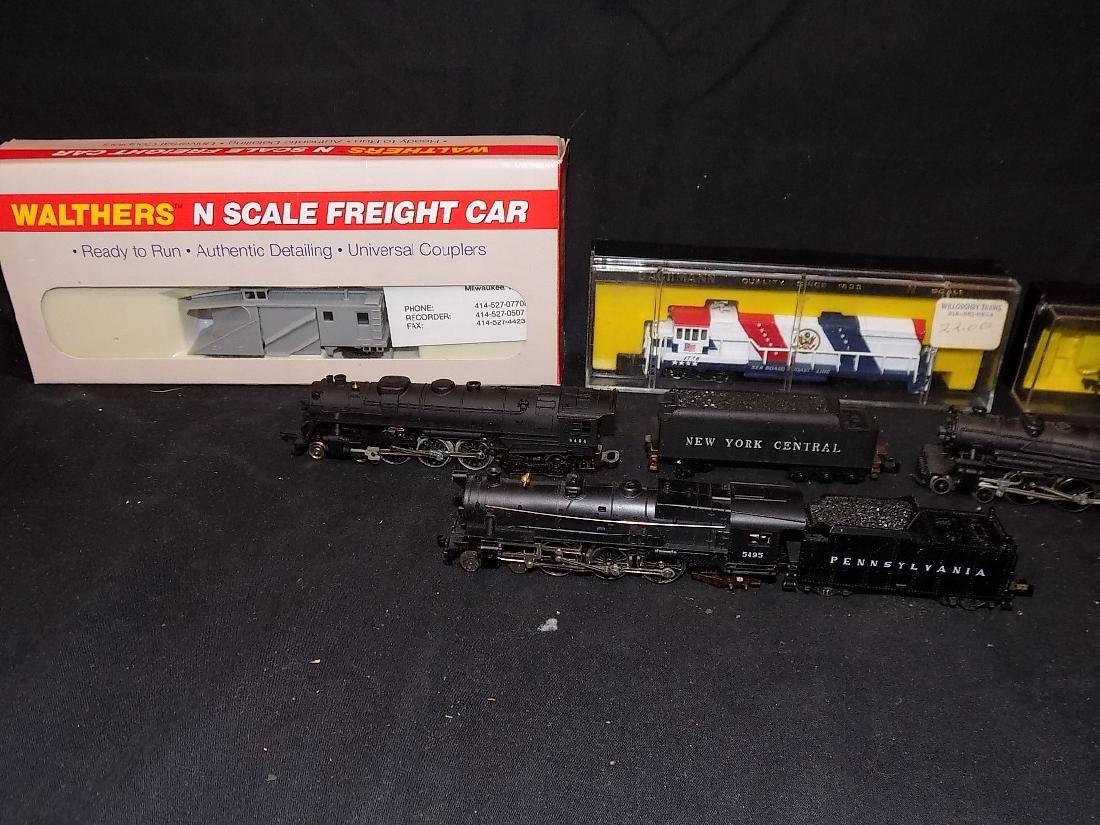1776 N Scale Engine + 94) Steam engines New York - 2