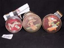 1950's Pin up Girls (3) Steering Wheel Suicide Knobs