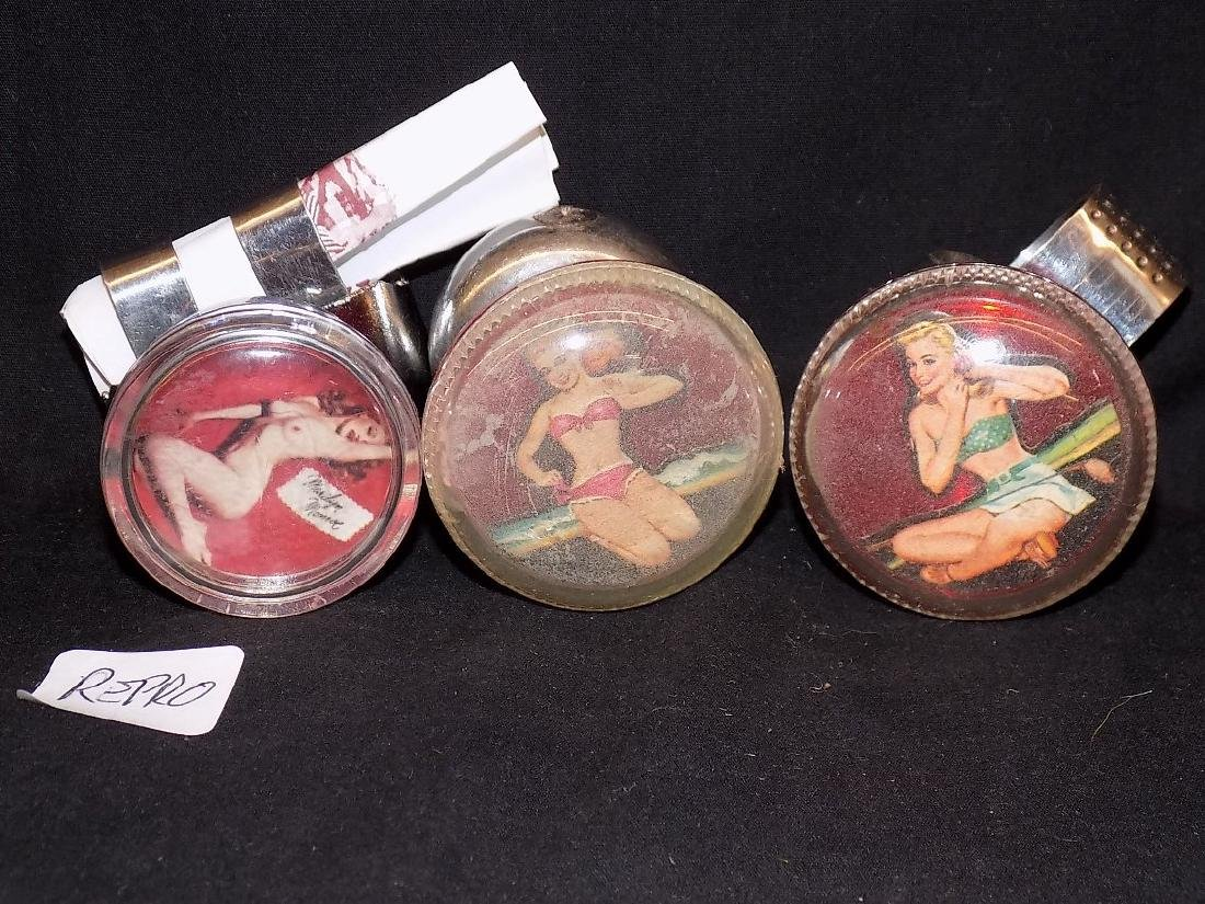 1950's Pin up Girls (3) Steering Wheel Suicide Knobs