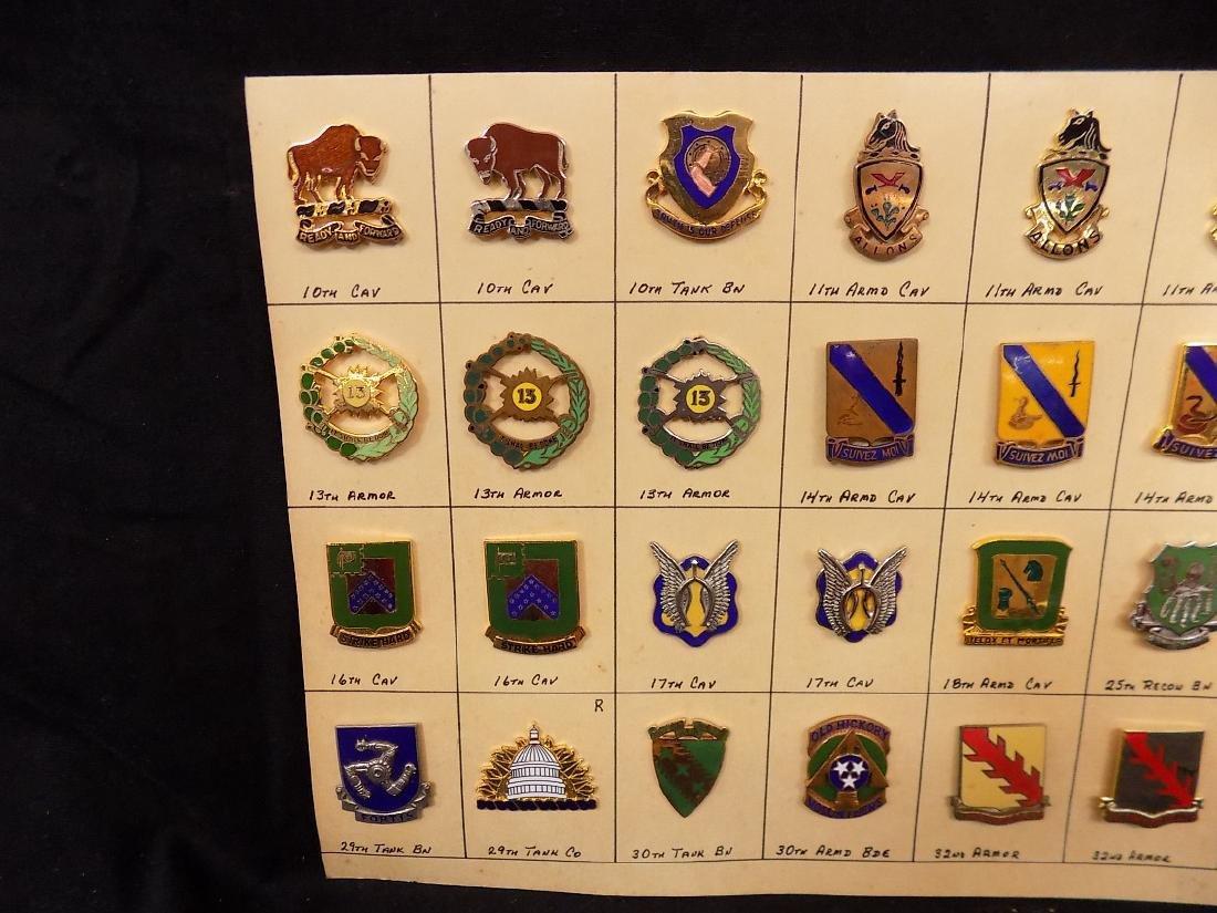 (36) United States Military Pins  10th Calvary, 14th - 2
