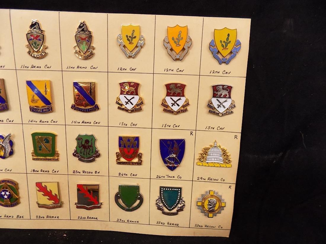 (36) United States Military Pins  10th Calvary, 14th - 3