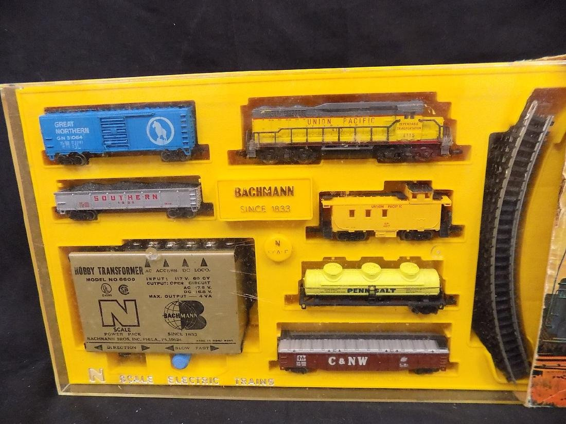 Bachmann N Gauge 4305 Union Pacific Train Set + Ho - 3