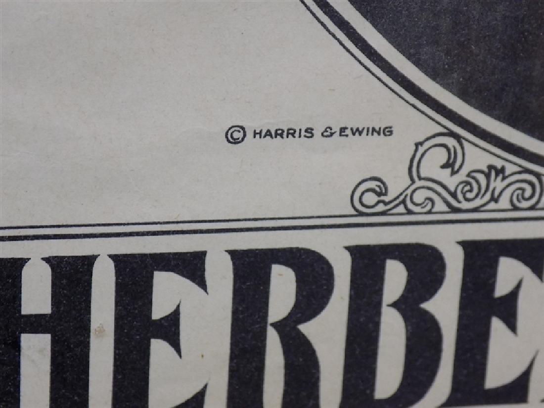 1928-1929 Herbert Hoover & Charles Curtis PRESIDENTIAL - 2