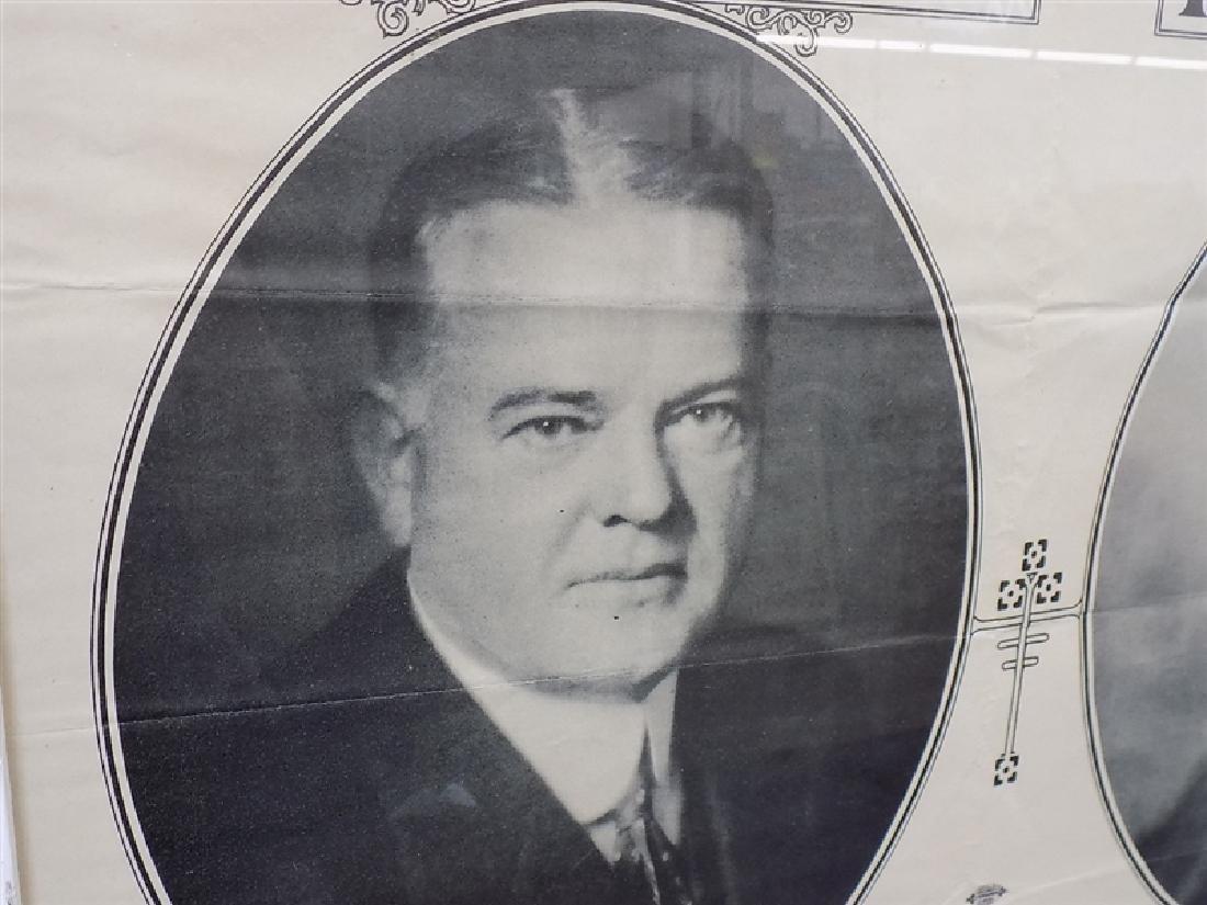1928-1929 Herbert Hoover & Charles Curtis PRESIDENTIAL - 3