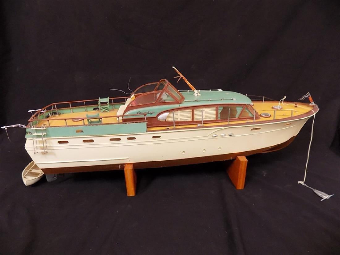 "1950's Chris-Craft Luxury Boat Display Model 31"""