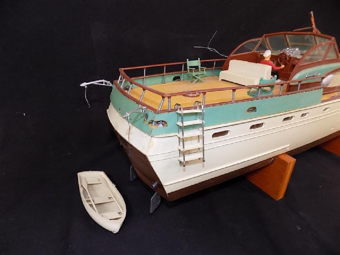 "1950's Chris-Craft Luxury Boat Display Model 31"" - 2"