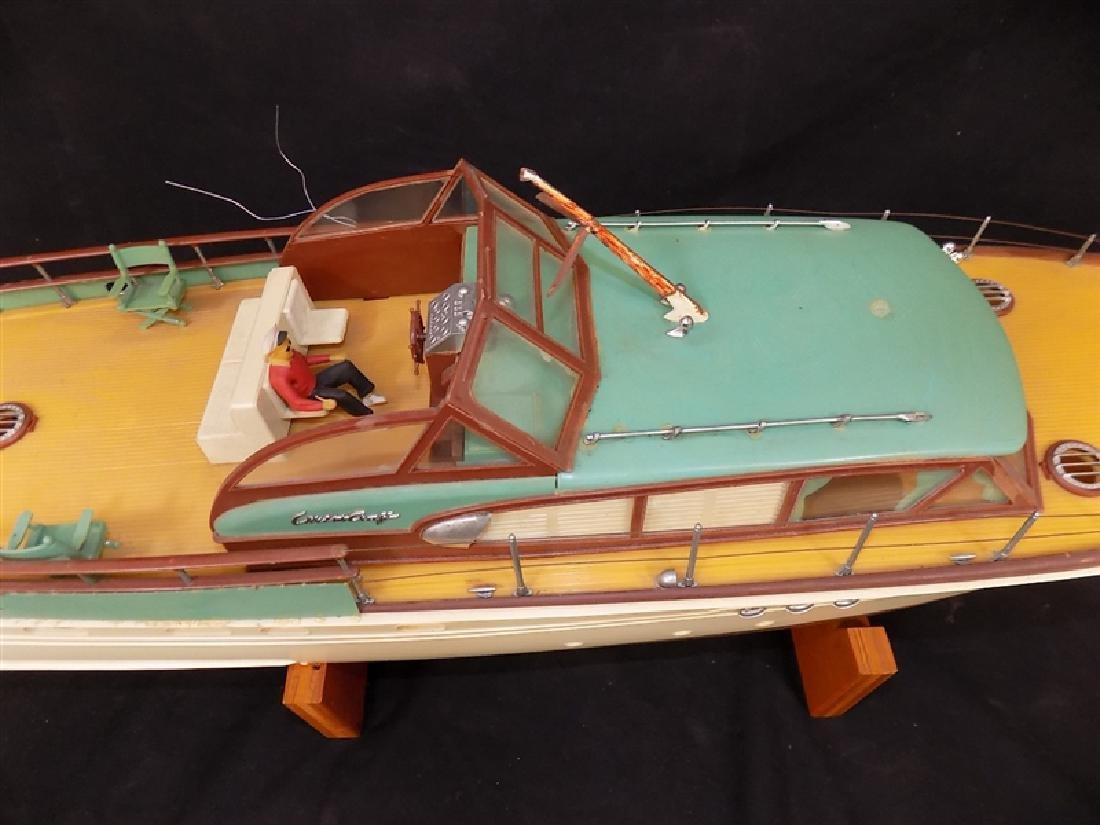 "1950's Chris-Craft Luxury Boat Display Model 31"" - 3"
