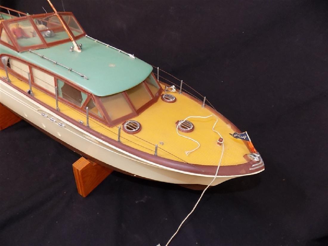 "1950's Chris-Craft Luxury Boat Display Model 31"" - 4"