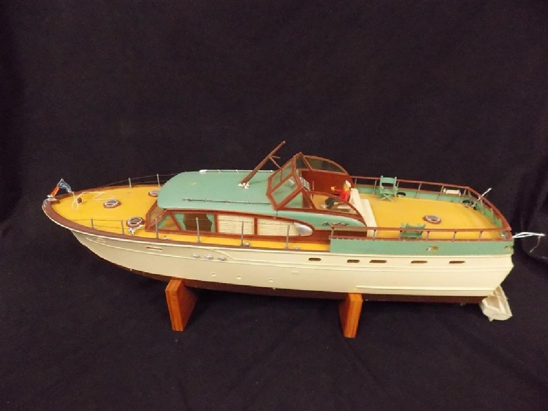 "1950's Chris-Craft Luxury Boat Display Model 31"" - 6"
