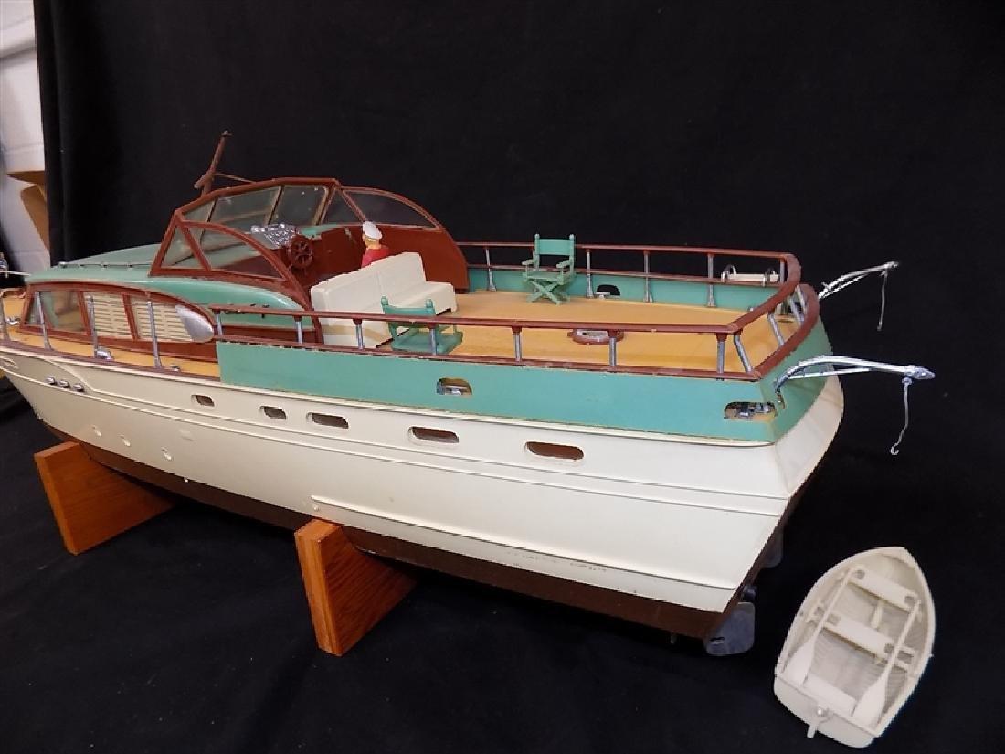 "1950's Chris-Craft Luxury Boat Display Model 31"" - 8"