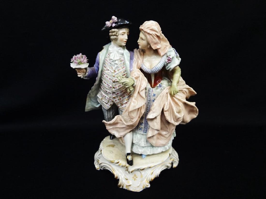 Ludwigsburger Porzellan-Fabrik Porcelain Figural Group