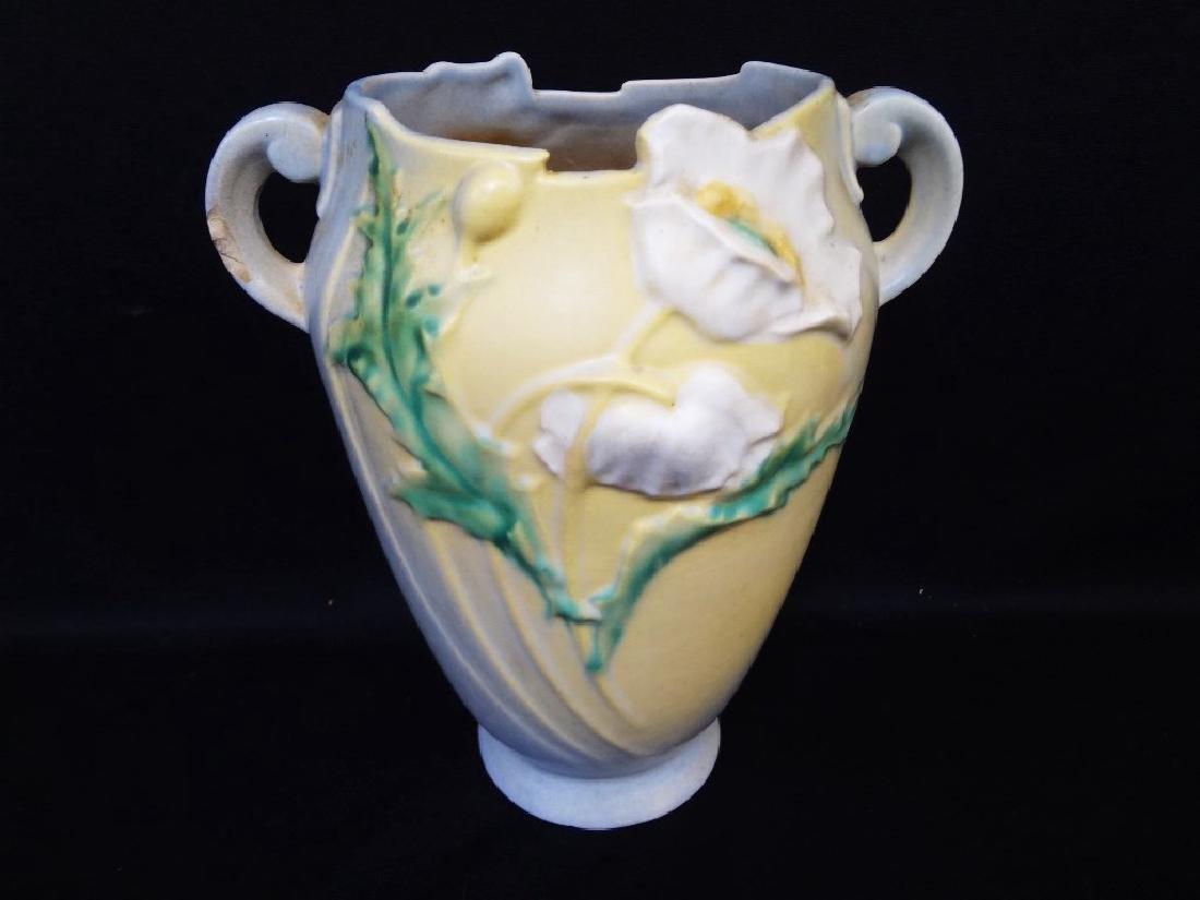 "Roseville Pottery Vase ""Poppy"" #875"